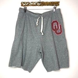 PINK Victoria's Secret Oklahoma OU Capri Shorts